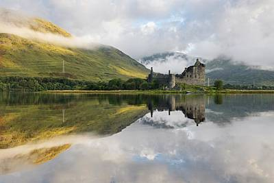 Photograph - Sunlight And Clouds At Kilchurn by Stephen Taylor