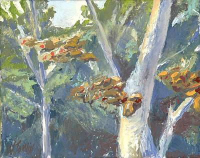 Painting - Sunlight And Sycamores by Whitney Tomlin
