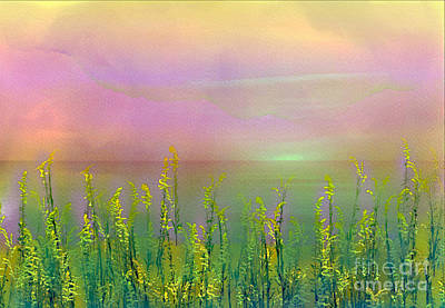 Digital Art - Sunlight At The Edge Of The Sea by Judi Bagwell