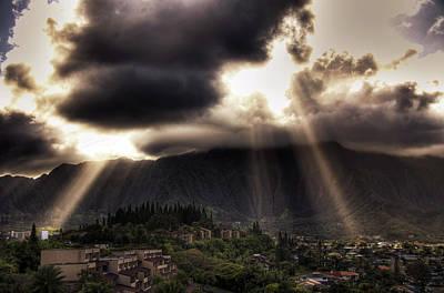 Photograph - Sunlight Breaking Through The Gloom by Dan McManus