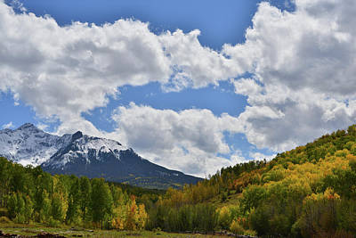 Photograph - Sunlight On Aspens Along Last Dollar Road by Ray Mathis