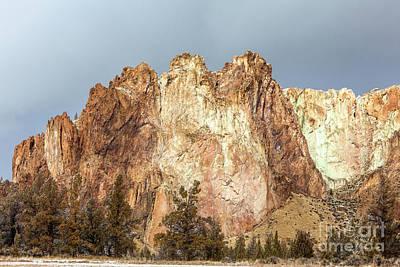 Photograph - Sunlight On Smith Rock by David Millenheft