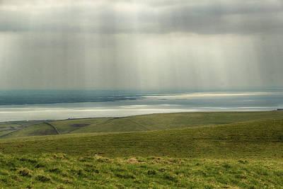 Photograph - Sunlight On The Irish Coast by Marie Leslie
