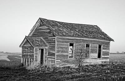 Photograph - Sunlight School Bnw by Bonfire Photography