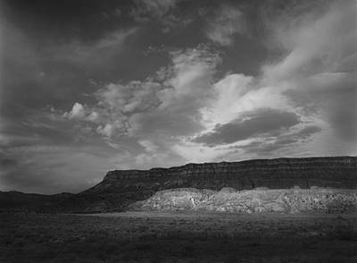 Photograph - Sunlit Cliffs New Mexico by Nathan Mccreery