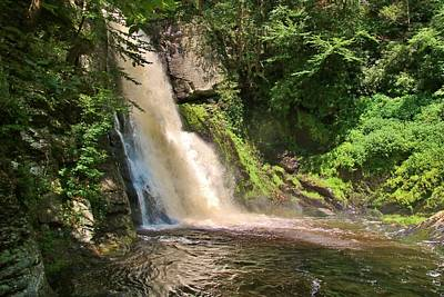 Photograph - Sunlit Falls by Karen Silvestri