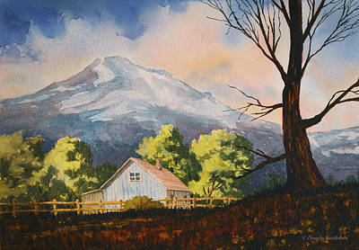 Painting - Sunlit Farmhouse by Douglas Castleman