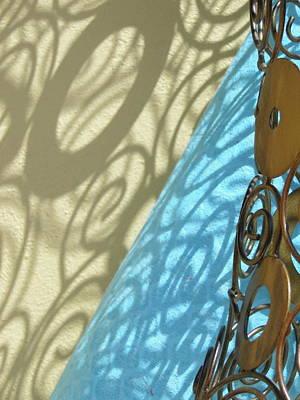 Sunlit In Swirls Art Print by Gail Butters Cohen