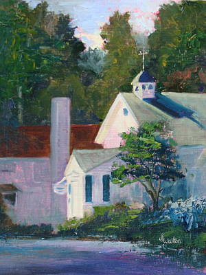 Painting - Sunlit Morning by Judy Fischer Walton