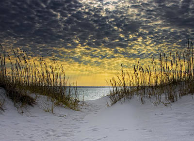 Sand Photograph - Sunlit Passage by Janet Fikar