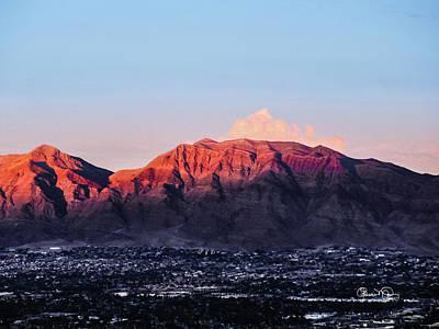 Photograph - Sunlit Peaks by Susan Molnar
