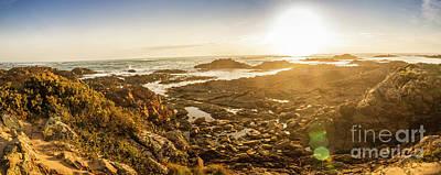 Coast Wall Art - Photograph - Sunlit Seaside by Jorgo Photography - Wall Art Gallery