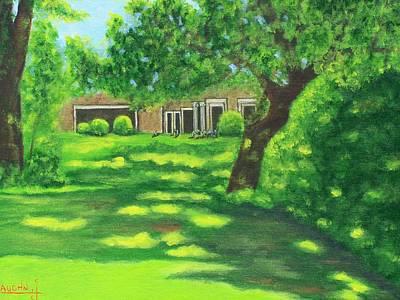 Sunlit View Art Print by Charles Vaughn