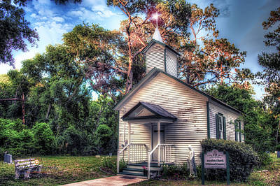 Photograph - Sunlit Worship by Joedes Photography