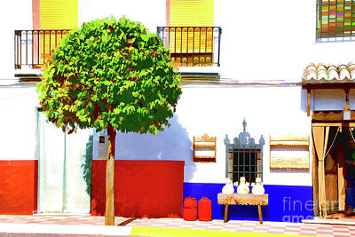 Photograph - Sunney Afternoon Spain by Rick Bragan