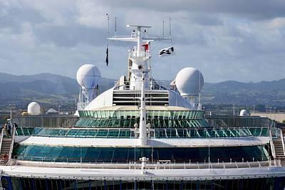 Photograph - Sunning Princess - Cruise Ship by KJ Swan