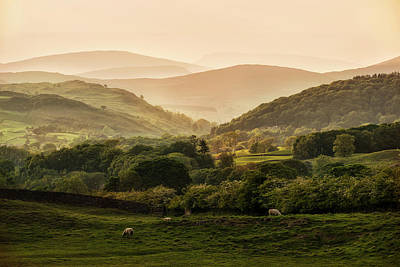 Photograph - Sunny Afternoon In Lake District by Jaroslaw Blaminsky