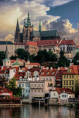 Photograph - Sunny Afternoon In Prague by Jaroslaw Blaminsky