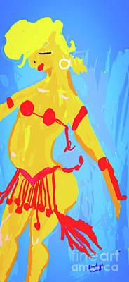 Ballroom Mixed Media - Sunny All Day by Shayna Monroe
