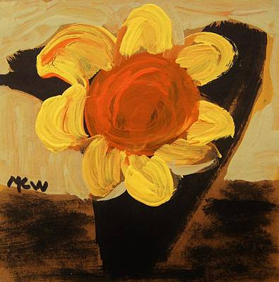 Sunny And Black Art Print by Mary Carol Williams