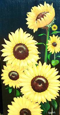 Sunny And Share Art Print by Dana Redfern