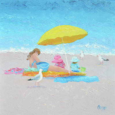 Painting - Sunny Beach Days by Jan Matson