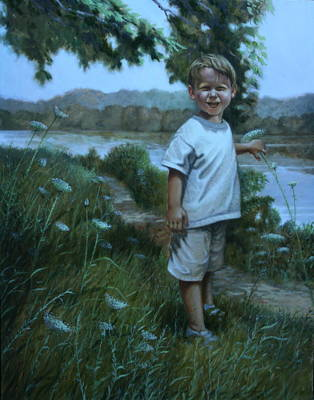 Painting - Sunny Boy by William Albanese Sr