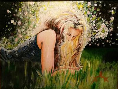 Painting - Sunny Child by Lettie Atkins