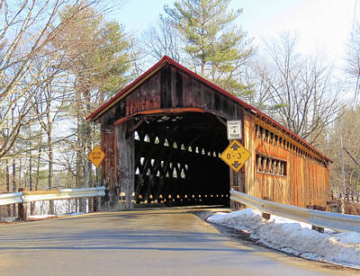 Photograph - Sunny Coombs Covered Bridge by MTBobbins Photography