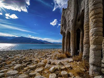 Crowley Lake Photograph - Sunny Crowley Lake Columns by Michele James