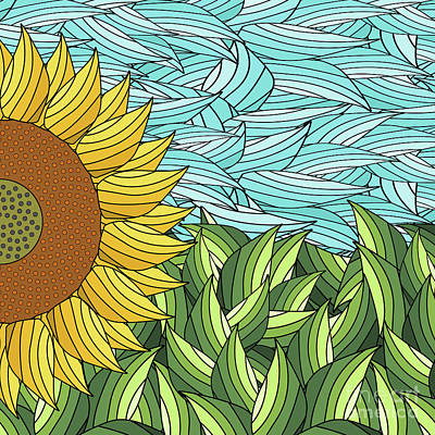 Sunny Day Art Print by Absentis Designs