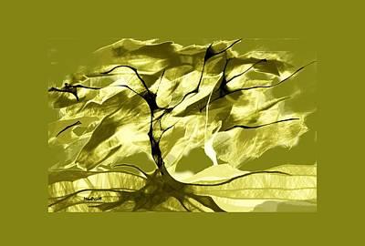 Digital Art - Sunny Day by Asok Mukhopadhyay
