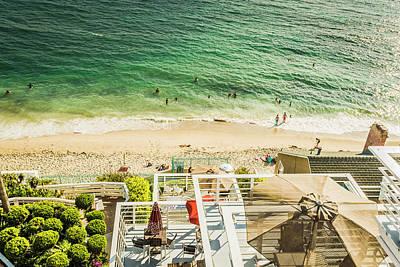 Photograph - Sunny Day At Laguna Beach 5525 by Amyn Nasser