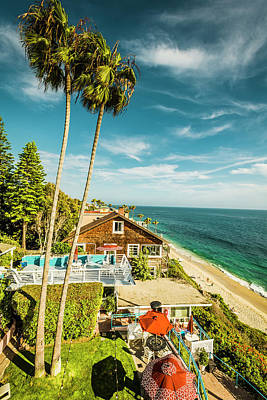 Photograph - Sunny Day Laguna Beach by Amyn Nasser