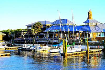 Photograph - Sunny Day At Mojo's by Shelia Kempf