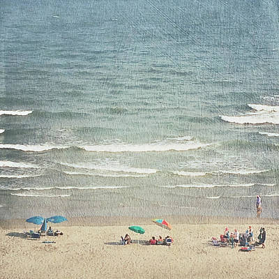 Sunny Day At North Myrtle Beach Art Print
