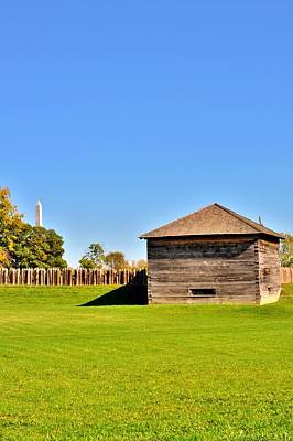 Fort Photograph - Sunny Day At The Fort by Michelle McPhillips