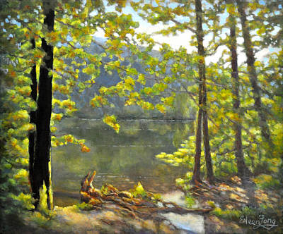 Painting - Sunny Day In The Creek by Eileen  Fong