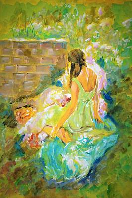 Painting - Sunny Day by Khalid Saeed