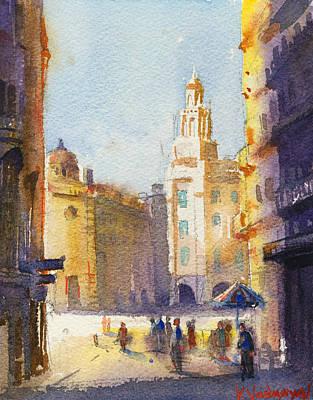 Sunny Day Painting - Sunny Day by Kristina Vardazaryan