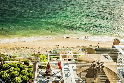 Photograph - Sunny Day Laguna Beach 5525 by Amyn Nasser