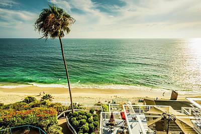 Photograph - Sunny Day Laguna Beach 5530 by Amyn Nasser