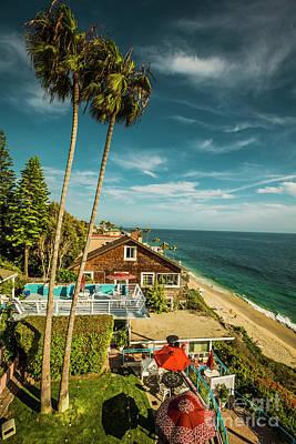 Photograph - Sunny Day Laguna Beach 5533 by Amyn Nasser