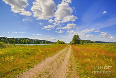 Painterly Photograph - Sunny Day by Veikko Suikkanen