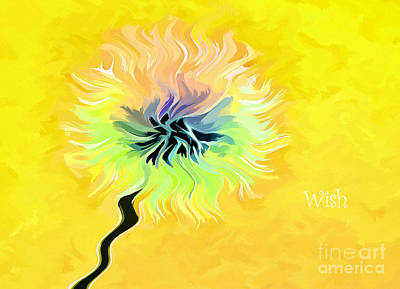 Digital Art - Sunny Day Wishes by Krissy Katsimbras