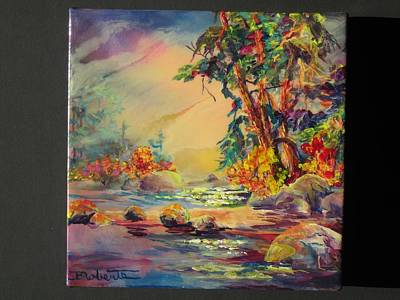 Painting - Sunny Days by Bonny Roberts