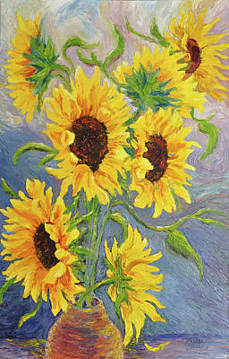 Floral Painting - Sunny Days by Heather Kemp