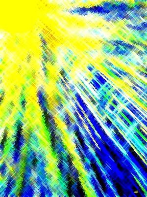 Sun Rays Digital Art - Sunny Days by Will Borden