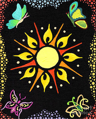 Painting - Sunny Delight by Kasia Bitner
