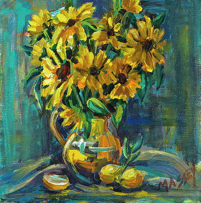 Painting - Sunny Disposition by Marie Massey